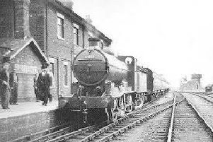 The Old Railway: Horncastle Station (courtesy of Horncastle History and Heritage Society) EMN-190318-220744001
