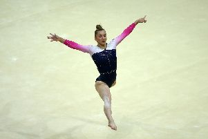 Great Britain gymnast Kelly Simm. Picture: Jack Thomas/Getty Images