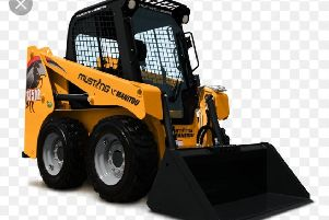 An image of a mini digger similar to the one stolen.