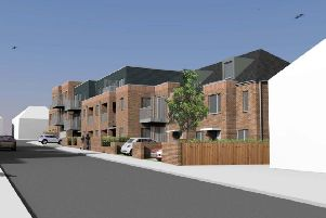 Plan for affordable housing in Bennetts Road, Horsham