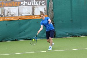 Chichester's men's tennis team took on Surrey / Picture by Jordan Colborne