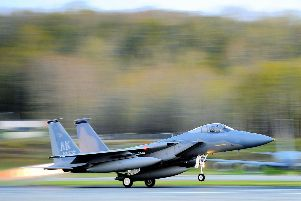 F15 military fighter jet SUS-190104-100201001