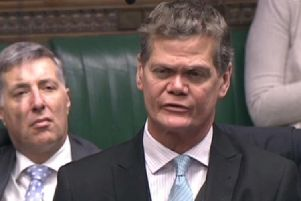 Eastbourne MP Stephen Lloyd speaks in the House of Commons