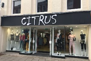 Worthing's new fashion retailer Citrus in Montague Street