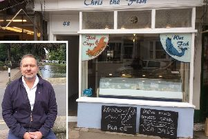 Chris the Fish in Steyning High Street has closed