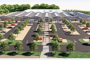 Haskins Garden Centre in Snowhill is undergoing a major redevelopment project
