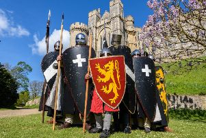A Call to Arms, Knights and Crusaders. Picture by Julia Claxton