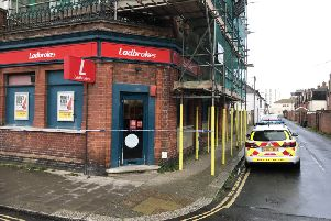 Armed robbery at Ladbrokes, Rowlands Road, Worthing