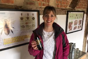 Hannah Rhodes, founder and MD of Hiver, the honey beer