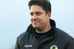 Horsham boss Dominic Di Paola. Picture by Derek Martin Photography