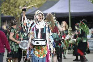 Pictured are Pentacle Drummers.  Horsham, West Sussex.