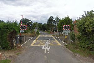 Emms Lane level crossing. Photo courtesy of Google