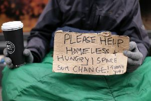 The council report recommends adopting the Housing First model, and also setting up a publicity campaign around giving money to rough sleepers