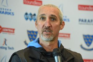 Head coach Jason Gillespie / Picture by PW Sporting Photography