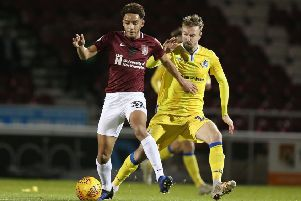 Teenager Jay Williams has impressed when called into the Cobblers first team