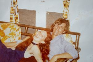 Ron Stevenson and his wife Gill taken in 1974.