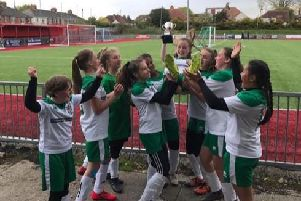 Bognor under-12 girls lift the Europa Cup