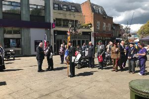 Service in the Carfax to mark 75 years since the D-Day landings