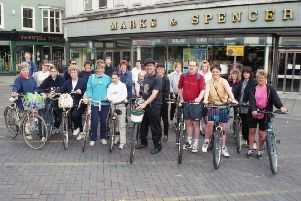 More than 30 members of staff at Marks and Spencer, in Boston, took part in a sponsored bike ride in aid of the Air Ambulance 20 years ago. The 10-mile fundraiser, which ran from Boston to Langrick and back, brought in about �450 for the cause.