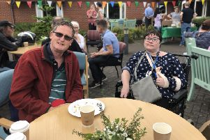 Kerwin Court in Horsham held an afternoon tea to mark Action for Brain Injury Week SUS-191006-103856001
