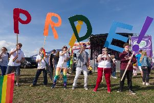 This weekend's big event, Portsmouth Pride.