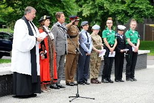 Havant Borough Council hosted a service to mark Armed Forces Day 'Picture: Sarah Standing (240619-9595)