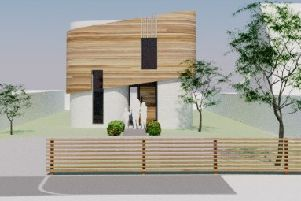 Artist's impression of the new build