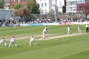 Sussex were well beaten at Hove by Durham