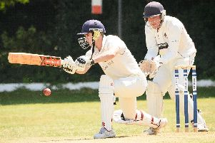 Luke Cornish scored 77 not out in Fareham & Crofton's success over Portsmouth & Southsea. Picture: Keith Woodland (060719-444)