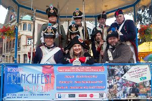 Horsham French Fest is to return on Bastille Day for one day only. Pictured is from last year's event SUS-191007-105907001