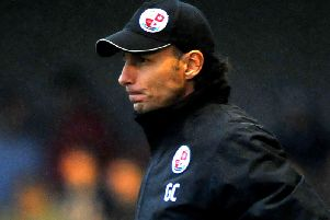 Crawley Town head coach Gabriele Cioffi. Picture by Steve Robards