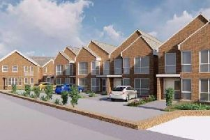 An artists' impression of the homes. Picture: Adur District Council