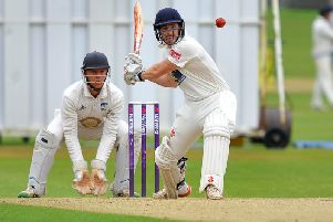 Craig Gallagher struck 52 off 44 balls in Horshams defeat to Cuckfield. All pictures by Steve Robards