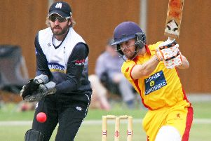 Roffey v Horsham in the Sussex T20 Cup semi-final