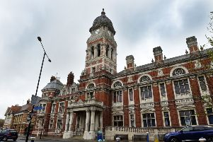 Eastbourne Town Hall (Photo by Jon Rigby) SUS-190425-155043008