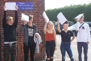 Pupils at Bridge House celebrate exams success