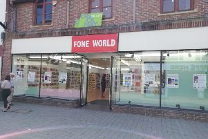 Fone World has moved into Horsham town centre