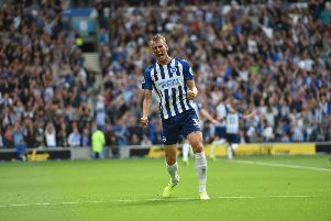 Dan Burn has impressed on the left side of the Brighton defence