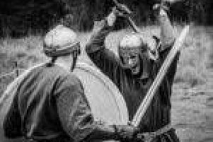 Northampton Bloodaxe Vikings will be taking over Hunsbury Hill Country Park