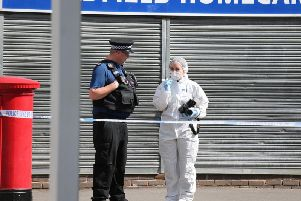 A man has been left fighting for his life after a stabbing in Crawley