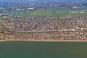 Shoreham from the air. Pic: Google SUS-190722-151144001
