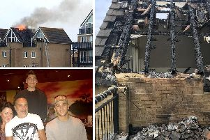 The Phillips family were left without a home after the blaze in Eastney last year