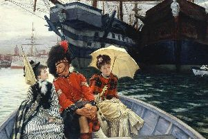 Portsmouth Dockyard by James Tissot. Picture: Tate