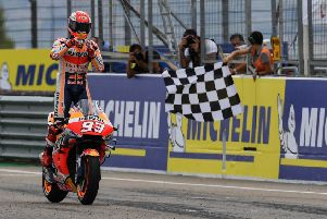 Marc Marquez dominates in Aragon.