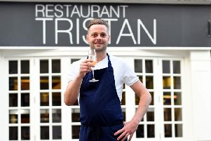 Tristan Mason, owner of Restaurant Tristan, which has been awarded a Michelin star for the eigth year in a row.  Picture : Liz Pearce. LP141114RT07 SUS-141224-122242003