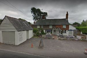 The Queen's Head, Barns Green, Google StreetView