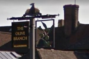 The Olive Branch, Horsham. Photo courtesy of Google StreetView