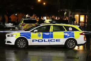 Sussex Police attended a stabbing in Springfield Road, Horsham SUS-190211-100223001