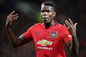 Paul Pogba will miss the match against Brighton and Hove Albion and is expected to be out of action until December