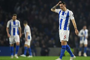 Brighton and Hove Albion skipper Lewis Dunk continues to be over-looked by England
